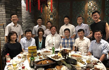 北京大学口腔医学院主催歓迎会